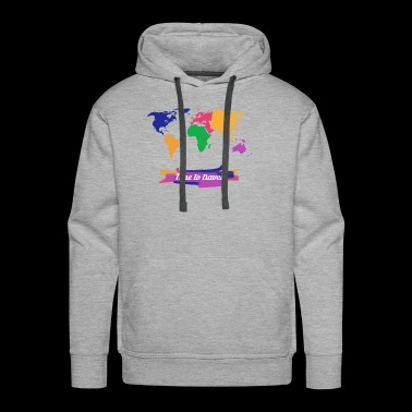 time to travel - Men's Premium Hoodie