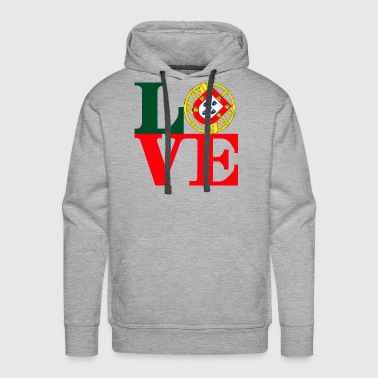 Love Portugal - Men's Premium Hoodie