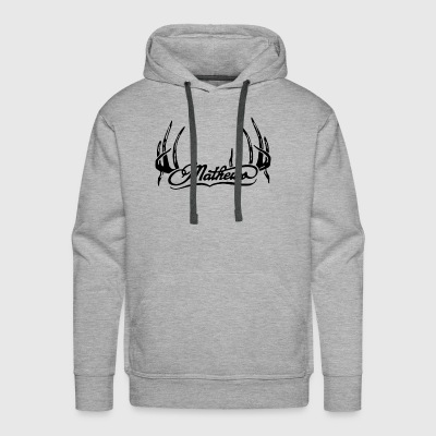 Mathews Hunting Archery Solo Cam Deer Buck - Men's Premium Hoodie