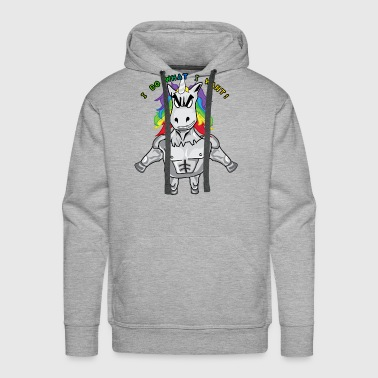 Unicorn on Steroids - Men's Premium Hoodie