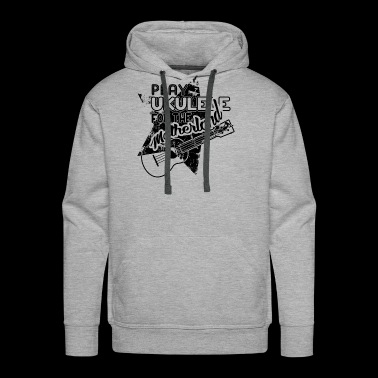 Play Ukulele For The Motherland Shirt - Men's Premium Hoodie