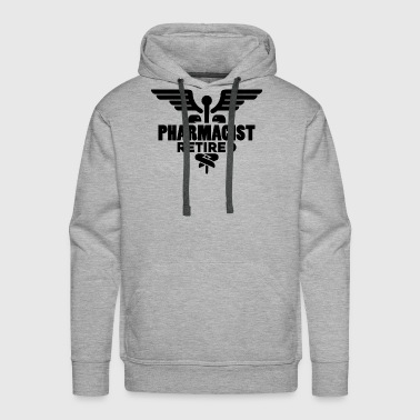 Pharmacist Retired Shirt - Men's Premium Hoodie