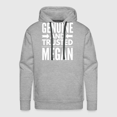 Genuine and Trusted Megan - Men's Premium Hoodie