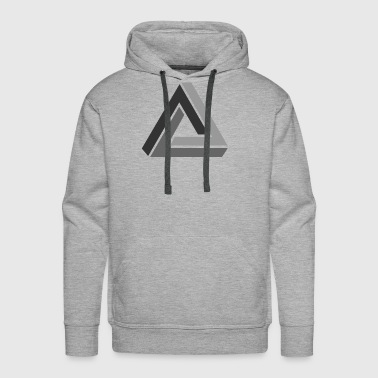 optical illusion - Men's Premium Hoodie