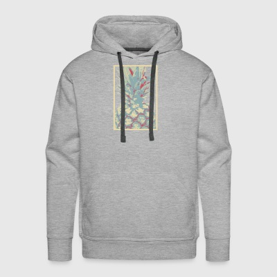 Pineapple portrait - Men's Premium Hoodie
