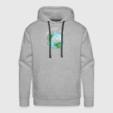 Astronaut Space Earth Day - Men's Premium Hoodie