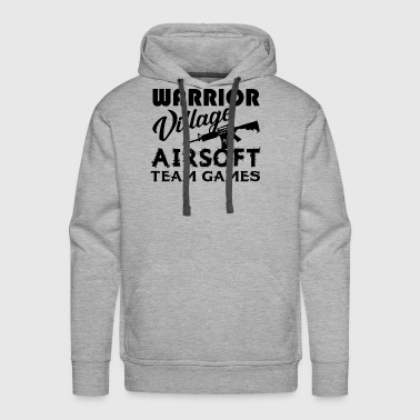 Warrior Village Airsoft Team Games Shirt - Men's Premium Hoodie