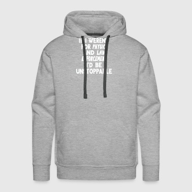 Physics and law enforcement science gift - Men's Premium Hoodie