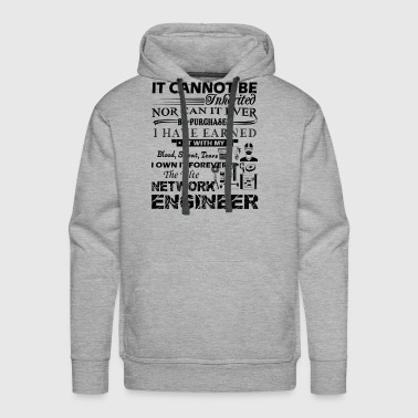 Network Engineer Forever The Title Shirt - Men's Premium Hoodie