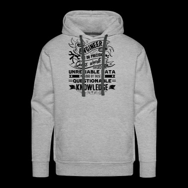 Engineer Shirt - Engineer Knowledge T Shirt - Men's Premium Hoodie
