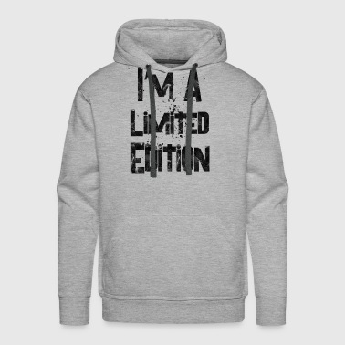 i m a limited edition 2 - Men's Premium Hoodie