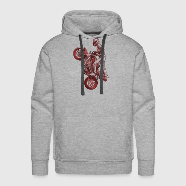 Stunt riding - Men's Premium Hoodie