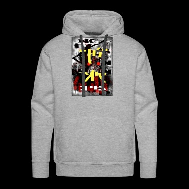 fake movie film-poster - Men's Premium Hoodie