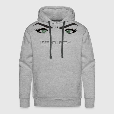 Cardinal´s - I see you bitch! - Men's Premium Hoodie