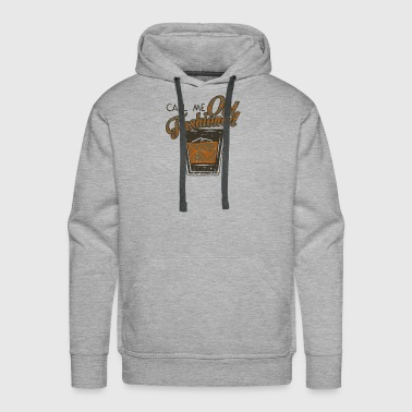 Call Me Old Fashioned gift idea - Men's Premium Hoodie