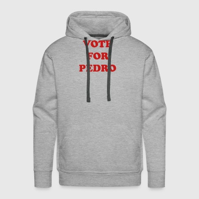 NAPOLEON DYNAMITE VOTE FOR PEDRO - Men's Premium Hoodie