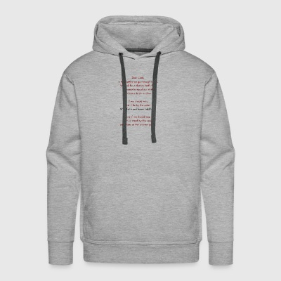 The Sportsman's Prayer - Men's Premium Hoodie