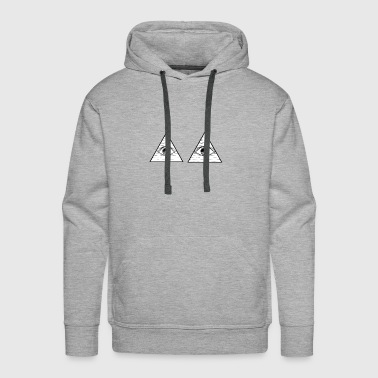 Double illuminati - Men's Premium Hoodie