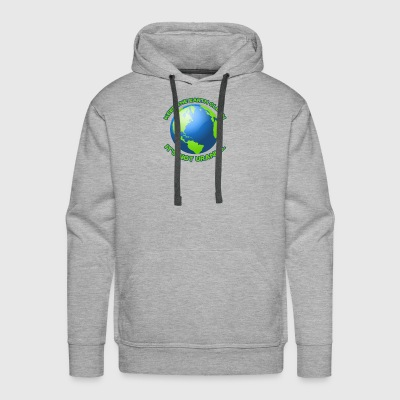 Keep the earth clean - Men's Premium Hoodie