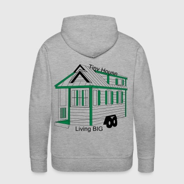 tiny house 21 - Men's Premium Hoodie