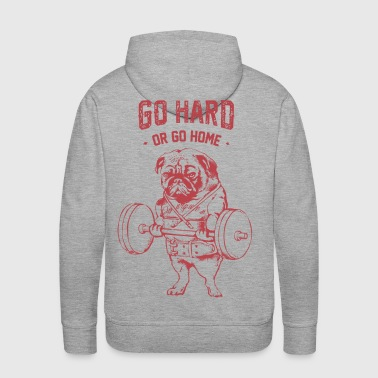 Go Hard or Go Home - Men's Premium Hoodie