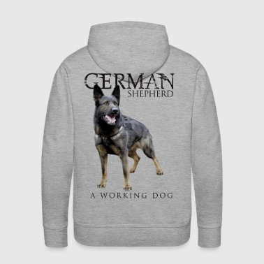 German Shepherd Dog - Men's Premium Hoodie