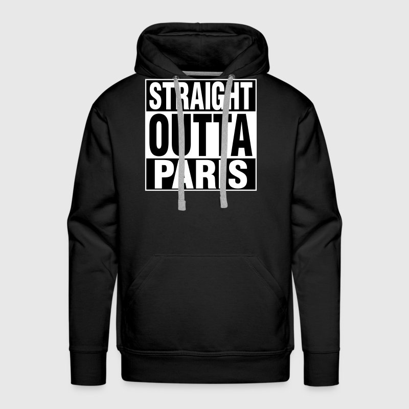 Straight Outta PARIS - Men's Premium Hoodie