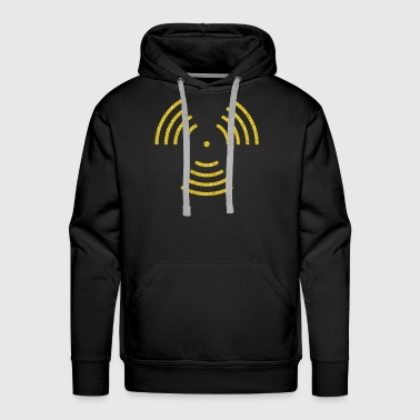 Sound Waves Sound Waves - Men's Premium Hoodie