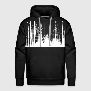Forest Trees - Men's Premium Hoodie