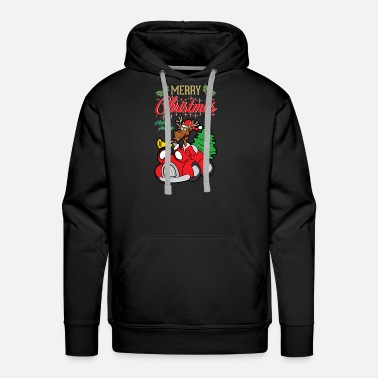 Happiness Christmas Xmas - Men's Premium Hoodie