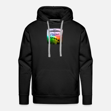 Lesbian Have a Wonderful Gay Christmas LGBT - Men's Premium Hoodie