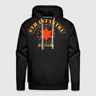 6th Infantry Division -  Red Star - Men's Premium Hoodie