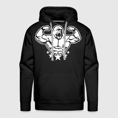 Animal rage - Men's Premium Hoodie