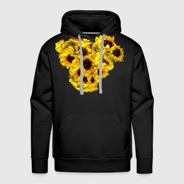 Sunflower Heart - Men's Premium Hoodie