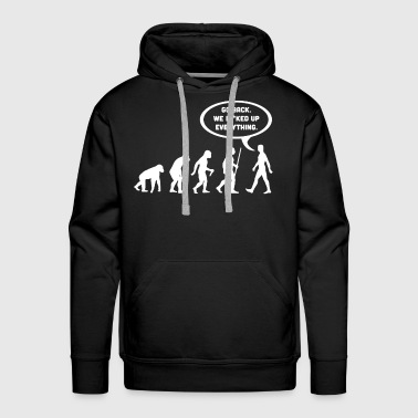 Evolution  Shirt - Men's Premium Hoodie