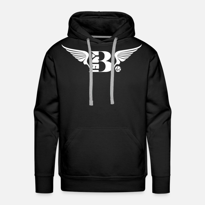 So Fly Hoodies & Sweatshirts - BFly - Men's Premium Hoodie black