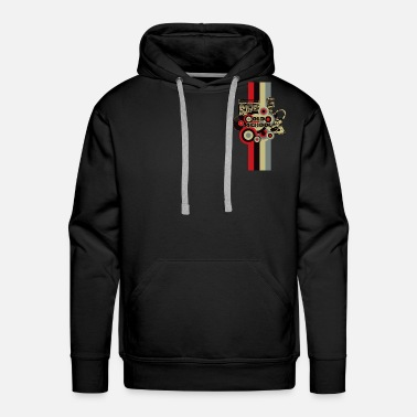 Old School Rap Old School - Men's Premium Hoodie