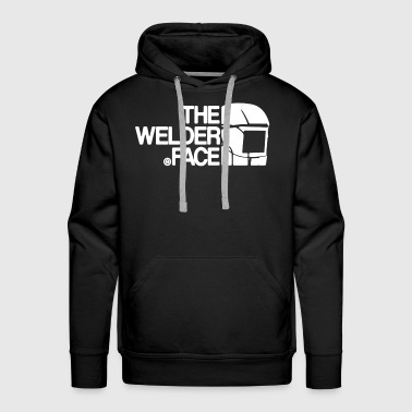 The Welder Face Shirt - Men's Premium Hoodie