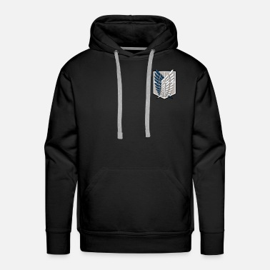 Titan Survey Corps | Attack on Titans - Men's Premium Hoodie