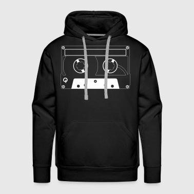 Old School Hip Hop Old School Tape - Men's Premium Hoodie