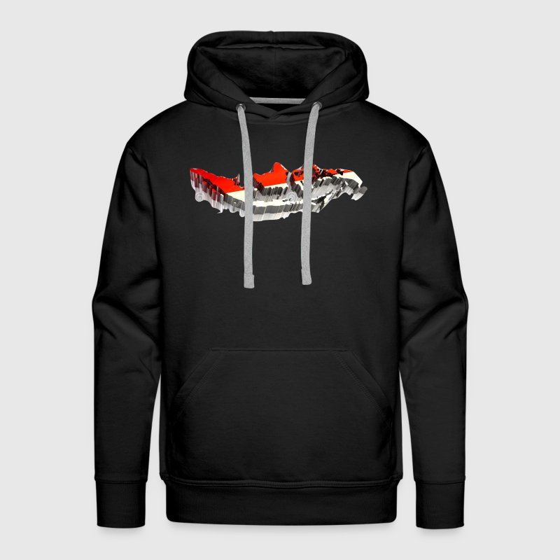 COUNTRIES FLAG OF INDONESIA - Men's Premium Hoodie