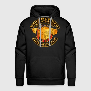 World War II Veteran - Men's Premium Hoodie