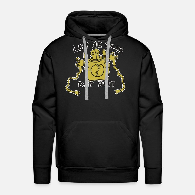 League Of Legends Hoodies & Sweatshirts - blitz Let me grab dat Butt  - Men's Premium Hoodie black