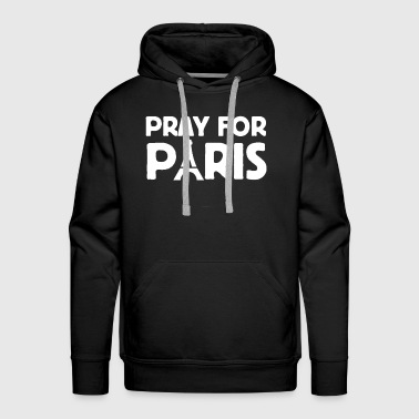 Pray For Paris - Men's Premium Hoodie