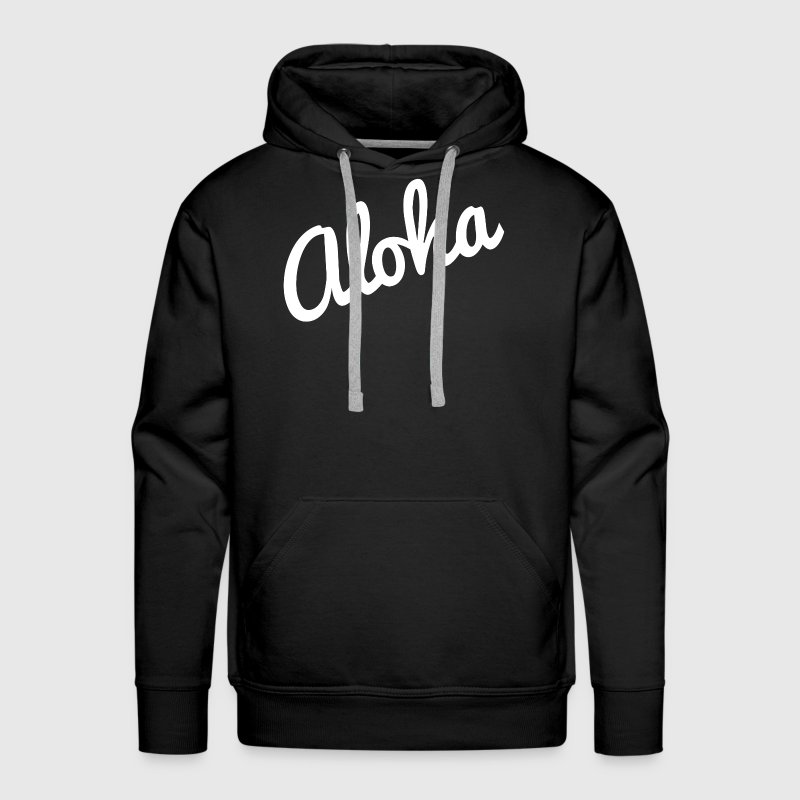 Aloha Hawaii Vacation Holiday Trip - Men's Premium Hoodie