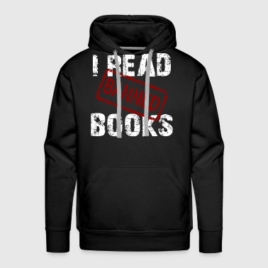 READ BANNED BOOKS - Men's Premium Hoodie