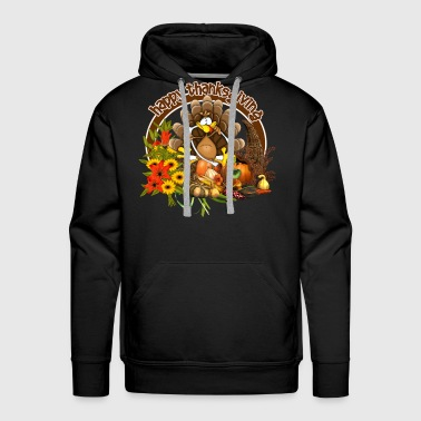 Mechanical Engineering Happy thanksgiving - Men's Premium Hoodie