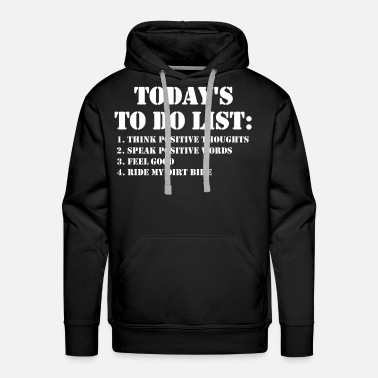 Dirt Bike Ride My Dirt Bike Shirt - Men's Premium Hoodie