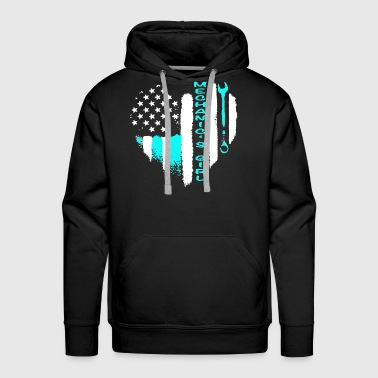 Mechanic Girl Shirt - Men's Premium Hoodie