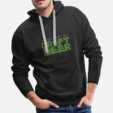 Wheat Beer Alcohol Party Gift Idea - Men's Premium Hoodie